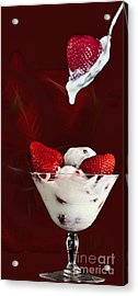 Acrylic Print featuring the photograph Strawberry Delight by Shirley Mangini