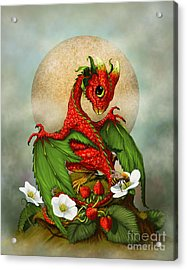 Strawberry Dragon Acrylic Print