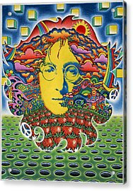 Strawberry Fields For Lennon Acrylic Print