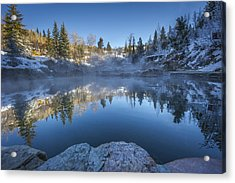 Strawberry Hot Springs Acrylic Print