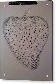 Strawberry Acrylic Print by Thommy McCorkle