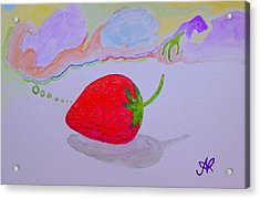 Strawberry Thoughts Acrylic Print