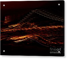 Streaks Across The Bridge Acrylic Print