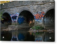 Acrylic Print featuring the photograph Stream Art by Greg Graham