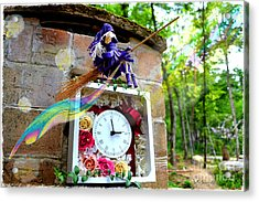 Stream Of Time Hana  Acrylic Print by Vin Kitayama