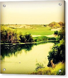 Streamsong #golf #iphone5 #instagram Acrylic Print