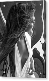 Street Art 9 Acrylic Print by Blue Muse Fine Art