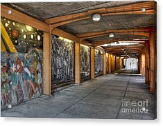 Street Art Acrylic Print by David Bearden