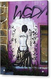 Street Art Valparaiso Chile 8 Acrylic Print by Kurt Van Wagner