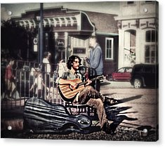 Street Beats Acrylic Print by Melanie Lankford Photography
