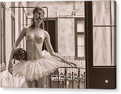 Street Dancer. Acrylic Print