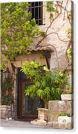 Street Entrance Acrylic Print by Bob Phillips