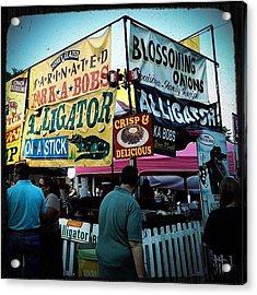 Street Fair Acrylic Print