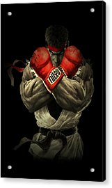 Street Fighter Acrylic Print