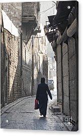 Street In Aleppo Syria Acrylic Print
