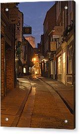 Street In Cork - England Acrylic Print