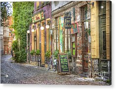 Street In Ghent Acrylic Print