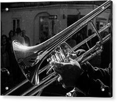 Street Jazz Acrylic Print