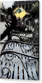 Street Jazz In The Big Easy Acrylic Print by Paul  Wilford