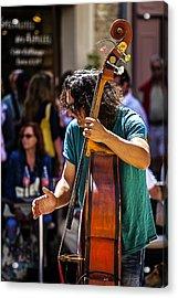 Street Jazz - St. Remy Style Acrylic Print