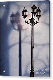 Street Lamp At Night Acrylic Print by Oleksiy Maksymenko