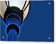 Street Light Acrylic Print by Darryl Dalton
