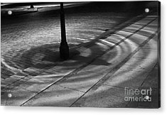 Acrylic Print featuring the photograph Street Light by Inge Riis McDonald