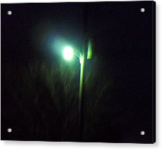 Street Light Acrylic Print by Rosalie Klidies