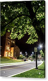 Acrylic Print featuring the photograph Street Lights In Slow Ville by Rhys Arithson