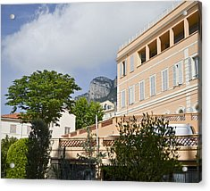 Acrylic Print featuring the photograph Street Of Monaco by Allen Sheffield