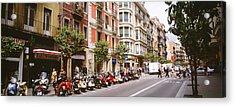 Street Scene Barcelona Spain Acrylic Print