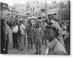 Street Scene In Amman, Jordan Acrylic Print by Underwood Archives