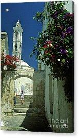 Street-scene In Kyrenia In Northern Cyprus  Acrylic Print by Alex Cassels