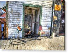 Street Scene Acrylic Print