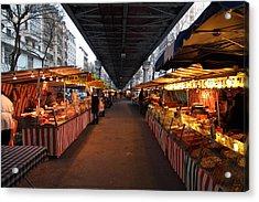Street Scenes - Paris France - 011316 Acrylic Print by DC Photographer