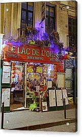 Street Scenes - Paris France - 011326 Acrylic Print