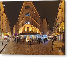 Street Scenes - Paris France - 011328 Acrylic Print by DC Photographer