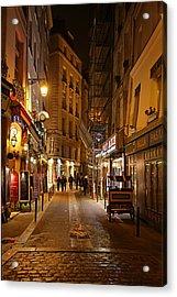 Street Scenes - Paris France - 011329 Acrylic Print by DC Photographer