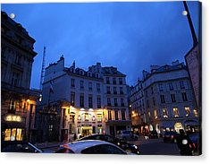 Street Scenes - Paris France - 011337 Acrylic Print