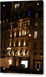 Street Scenes - Paris France - 011347 Acrylic Print by DC Photographer