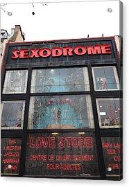 Street Scenes - Paris France - 011349 Acrylic Print by DC Photographer