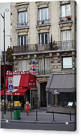 Street Scenes - Paris France - 011352 Acrylic Print by DC Photographer
