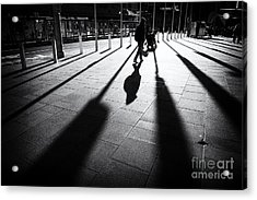 Acrylic Print featuring the photograph Street Shadow by Yew Kwang