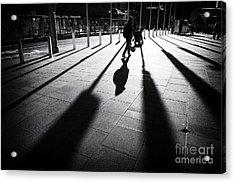 Street Shadow Acrylic Print