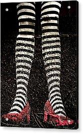 Street Shoes Acrylic Print