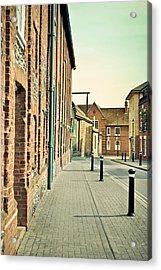 Street  Acrylic Print by Tom Gowanlock