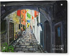 Street View 2 From Pula Acrylic Print