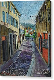 Street View From Provence Acrylic Print