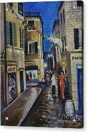 Street View Provence 2 Acrylic Print