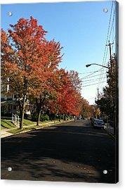 Street View Staten Island Acrylic Print